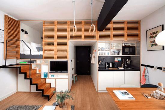 Comment optimiser l'espace de son studio ?